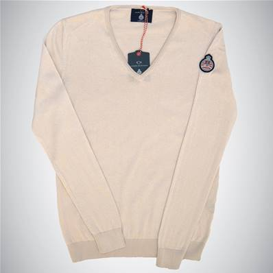 "Pull beige "" Automobile Club de Monaco"""