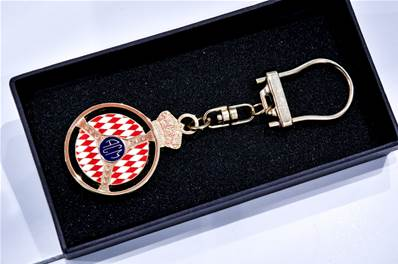 "Porte-Clefs ""Automobile Club de Monaco"""