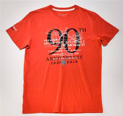 "Tee-shirt OFFICIEL "" 90th anniversary """