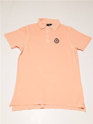 "Polo officiel orange "" Automobile Club de Monaco"""