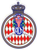 "Sticker "" Automobile Club de Monaco """
