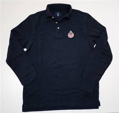 "Navy polo "" Automobile Club of Monaco """