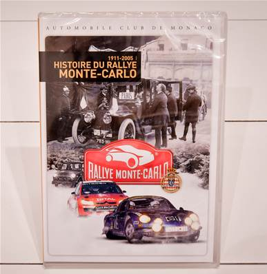 "DVD "" History of the Monte Carlo Rally """