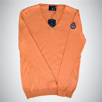 "Pull orange ""Automobile Club de Monaco"""