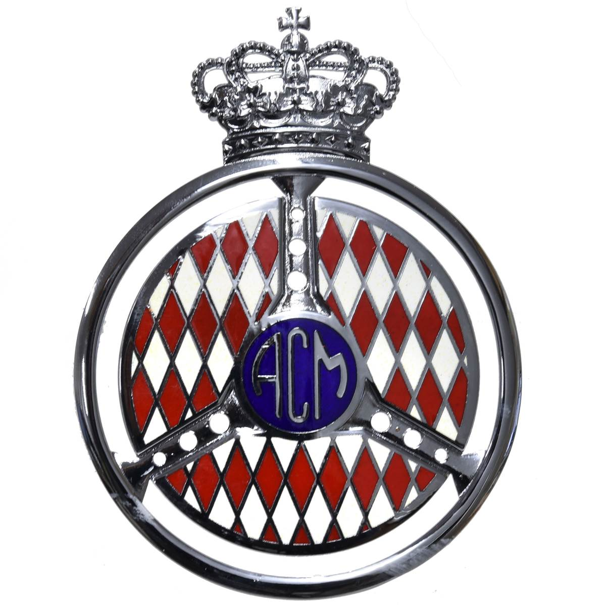 badge de calandre automobile club de monaco. Black Bedroom Furniture Sets. Home Design Ideas