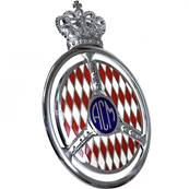 "Badge de calandre ""Automobile Club de Monaco"""