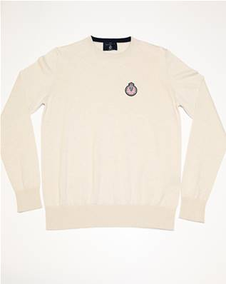 "Pull beige"" Automobile Club de Monaco"""